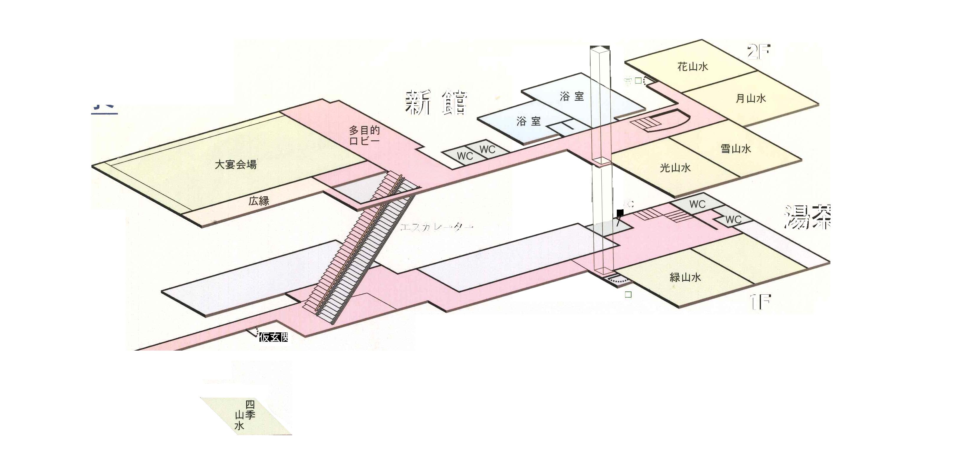 本館案内図